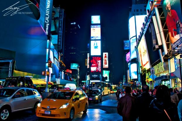 NYC Times Square Logo