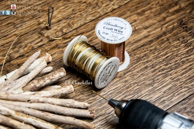 Craft Wire Drill Wood